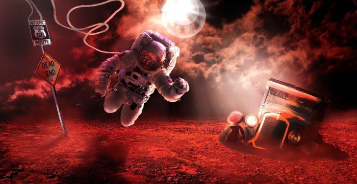 宇宙飛行士、火星、MARS2020、NASA