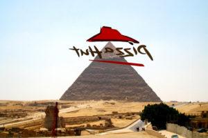 エジプト、ギザ、ピザハット、PIZZA HUT、スフィンクス