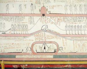 エジプト、文明、造形、装飾、芸術、死後の12時間、、アムドゥアトの書