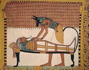 エジプト、アヌビス、死者、ミイラ
