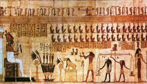 エジプト、ギザ、スフィンクス、ピラミッド、壁画