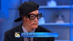 デイブデイブ、DAVEDAVE、マイケル・ジャクソン、生きている、変装
