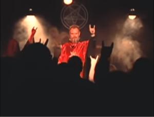 サタン教会、悪魔崇拝、コルナサイン